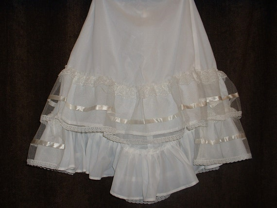 Steampunk Staggered Long Filly Petticoat REDUCED