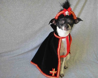 Pirate costume for dog or cat