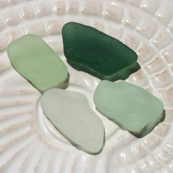 Undrilled Seaglass Jewelry or Mosaics. Seafoam, Teal, & White. Lot E7