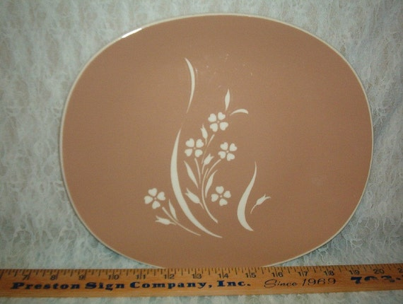 Harkerware Platter Cameoware 11 x 10