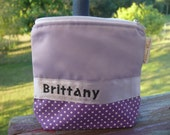 Customisable cosmetic pouch - medium - shaped base