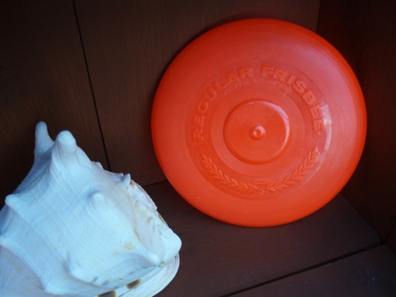 1966 WHAM O Red Frisbee Flying Disc 13A
