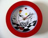 Street Light Clock STREET LIGHT - Original Artwork by Yury Tarler