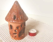 Candle Holder  FAIRY TALE TOWER - reserved for LaFiabaRussa