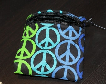 Peace Sign Pouch X-Small (XS5)