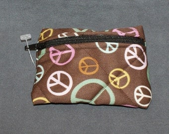Peace Sign Pouch Small (S40)