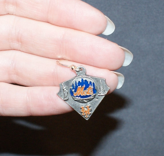 New York Mets Earrings