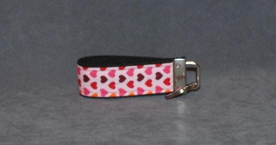Pink Heart Key Fob (Small)