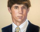 "Custom Portrait Pastel Painting of Child or Pet 16x20"""