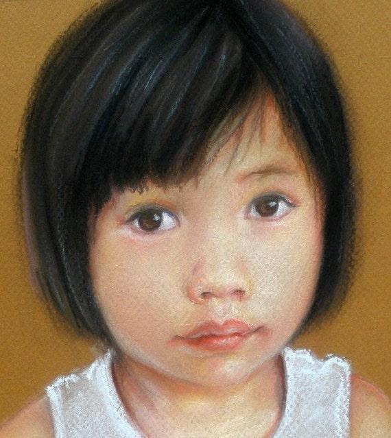 Custom Chalk Pastel Portrait