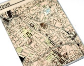 Passport Cover  - Central London Map