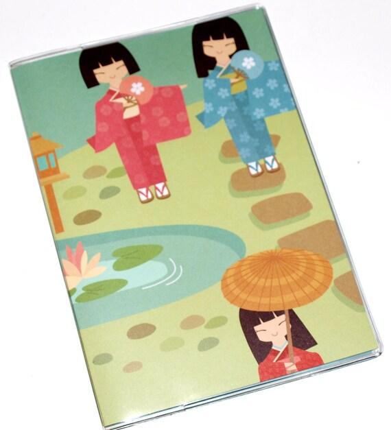 Passport Cover  - Geisha Girls