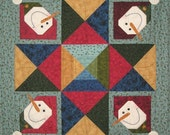 All Snowed In Quilt Pattern with Free Shipping & JAB Bell Buttons Included
