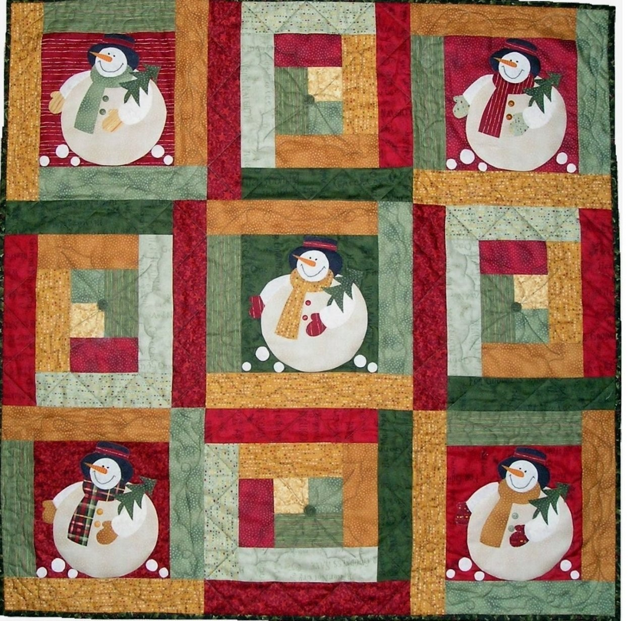 how to put buttons on a quilt