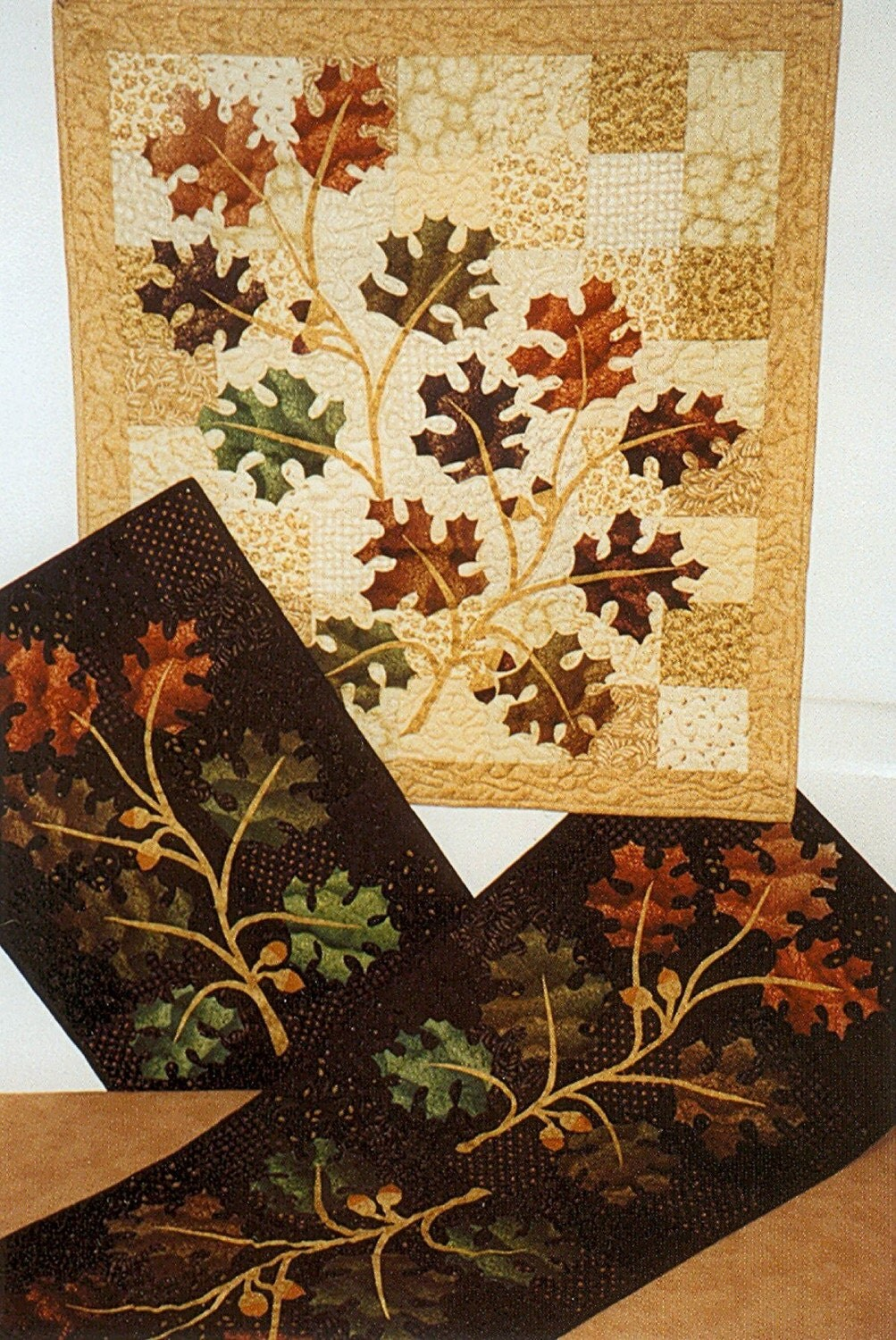 Old Oak Tree Quilt And Table Runner Pattern
