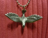 PEWTER DOVE of PEACE Pendant