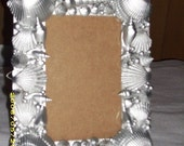 Silver Sea Shell Picture Frame