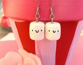 Mini Marshmallow Earrings