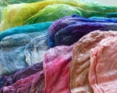 Rainbow mawatas / silk hankies