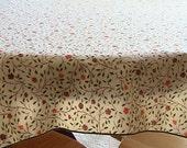 Vintage Floral Table Cloth