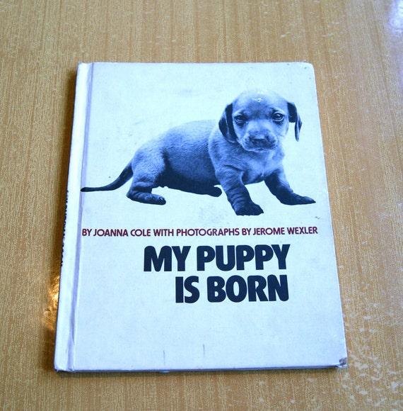 My Puppy Is Born - Vintage Book