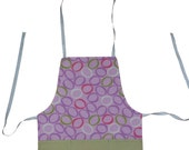 O's Apron in Blue or Pink FREE SHIPPING