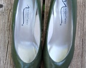 The G.I. Jane Pumps in Army Green - Size 7