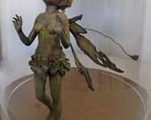 OOAK Art Doll Sculpture Fairy - Captured Wood Sprite