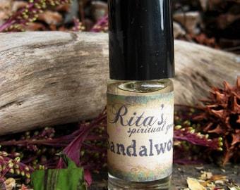 Rita's Sandalwood Hand Brewed Oil - Help Make Your Life a Sacred Act