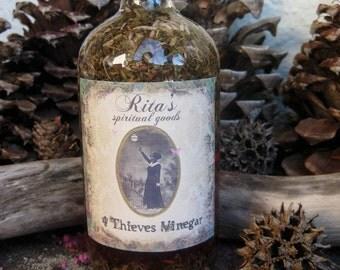 Rita's 4 Thieves Hoodoo Root Vinegar - Pagan, Magic, Hoodoo, Witchcraft, Juju