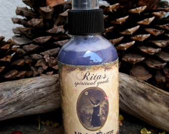 Rita's Violet Flame Spiritual Mist Spray - Cleanse Karmic Debt - Hoodoo, Witchcraft, Pagan, Magic