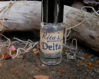 Rita's Delta Ritual Oil - Rebirth - Pagan Magic, Hoodoo, Witchcraft, Juju