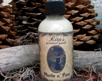 Rita's Hustle n Flow Spiritual Mist Spray - Hoodoo, Witchcraft, Pagan, Magic, Juju