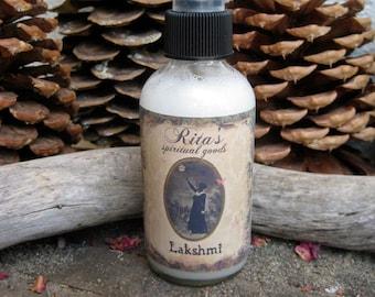 Rita's Lakshmi Spiritual Mist Spray - Pagan, Magic. Witchcraft, Hoodoo, Juju
