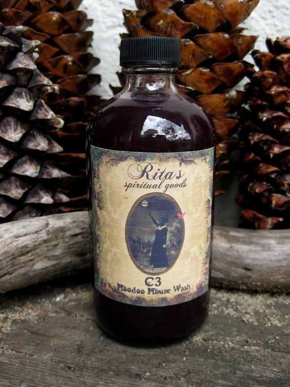 Rita's C3 Hoodoo House Wash - Cleanse n' Conjure n' Conquer, Pagan, Witchcraft, Magic