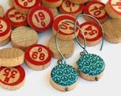 Peace - Bingo Earrings, B12 and N40