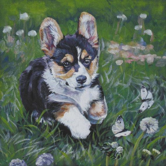 "Custom Pet Portrait,Custom Dog Portrait, pet art, Original Painting by LA Shepard, dog art, Pet,cat,11x14"" painting"