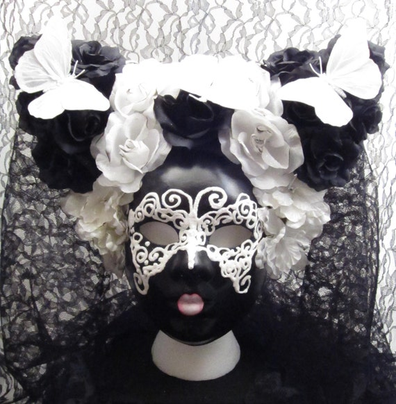 Sale!  Dark Fairy Mask