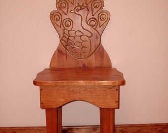 entry chair, decorative chair, peacock chair