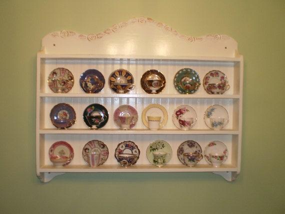 Tea cup shelf , Collectors Edition