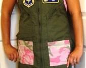 Flightsuit Apron