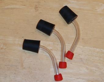 Set of 3 Hummingbird Feeder Stopper Cork Tube 13/16 Inch #4