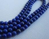 16 Inch Strand 3mm Lapis Lazuli