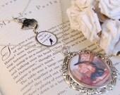 Mad Hatter Riddle - Alice in Wonderland Necklace