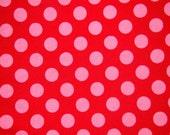 SALE - Michael Miller - Berry Ta Dot - 40x69