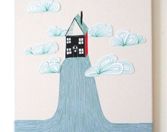 House Warming, Moving House, Housewarming, Dream House, Fun and Happy, moving and house warming gift, moving house present, Gift for MCCD1