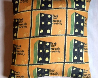 SALE Pack Your Parcels Carefully - Eggs cushion/pillow