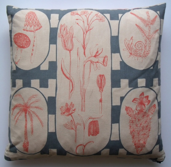 SALE*** Attenborough Cushion Pillow - Private Life of Plants