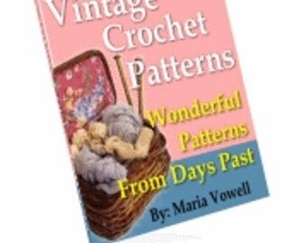 eBook 20 Vintage Crochet Patterns From The Past
