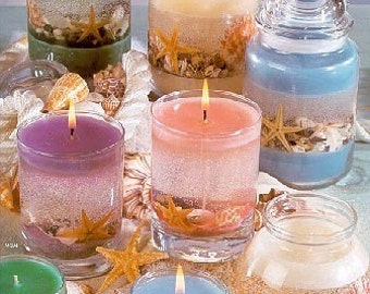 eBook How to Make Basic, Gel and Scrap Candles Instant Digital Delivery eBook PDF